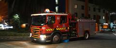 Going back home (adelaidefire) Tags: alarm fire call melbourne victoria southbank travelodge metropolitan scania brigade mfb