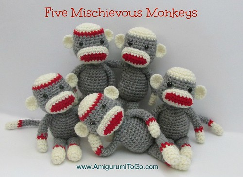Yeti and Bigfoot amigurumi pattern | A pattern to make a cut… | Flickr | 364x500