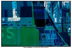 """HAFEN HAMBURG: """"S"""" (CHRISTIAN DAMERIUS - KUNSTGALERIE HAMBURG) Tags: orange berlin rot silhouette modern strand deutschland see licht stillleben dock meer wasser räume hamburg herbst felder wolken haus technik porträt container gelb stadt grün blau ufer hafen landungsbrücken wald nordsee bäume ostsee schatten spiegelung schwarz elbe horizont bilder schiffe ausstellung schleswigholstein frühling landschaften wellen häuser rapsfelder hafenhamburg acrylbilder nordart acrylmalerei expressionistisch acrylgemälde kunstdrucke auftragsmalerei auftragsbilder norddeutschelandschaften galeriehamburg kunstausschreibungen kunstwettbewerbe auftragsmalereihamburg cdamerius hamburgerkünstler malereihamburg bilderleasen landschaftennorddeutschlands bildermieten kunstgaleriehamburg bilderwerkhamburg galerieninhamburg acrylbilderhamburg virtuellegaleriehamburg acrylmalereihamburg"""