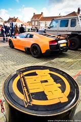 Lamborghini Murcielago LP670-4 SV and Mercedes-Benz G 63 AMG 6X6 - Borderrun 2014 (Rmy | www.chtiphotocar.com) Tags: orange 6x6 netherlands car sport monster race truck mercedes benz photo nikon tank belgium g 4 rally border wheels sigma run racing 66 class 63 le knokke lp lamborghini arancio supercar sv sportscar amg sluis borealis murcielago lightroom 670 v12 heist klass borderrun zoute hypercar worldcars superveloce
