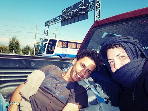Road trip, Santiago, Chili