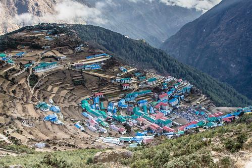 Namche Bazar (3440m)
