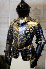 DSC_0199 (cacophotography) Tags: art european michigan steel detroit armor platemail