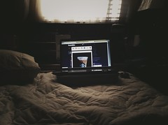 (jacksuon) Tags: morning daylight bedroom laptop tumblr uploaded:by=flickrmobile brooklynfilter flickriosapp:filter=brooklyn