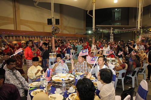 Majlis Merdeka Raya 1Malaysia Wanita UMNO BN Selangor.