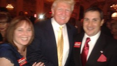 Dinner with Donald J. Trump at Mar-A-Lago Club — with Joe Kaufman.