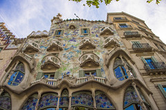 Barcelona (tamerfouad) Tags: barcelona sky color building tower art glass colors beautiful beauty architecture facade digital photoshop buildings outdoors photography yahoo google amazing spain graphics flickr torre tour pages edificio towers streetphotography best collection thumb sensational tall thumbnails msn turm flikr brilliant flick flicker wolkenkratzer rascacielo gratteciel blueribbonwinner flickrcolour favemegroup7 globalvillage2 dexxus saversclip dwcffurban