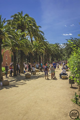 Park Guell (Alessando De Felice) Tags: sun spain sagradafamilia holliday viaggio boqueria