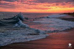 The Wedge (Desert Rat Photography (E.A. Rosen)) Tags: california sunset sun surf colours ngc newportbeach malibu pacificocean beaches southerncalifornia orangecounty thewedge sunsetreflections eveningreflections colorfulsunsetmalibubeach seascapelightandreflections atmosphericeveninglightandcolor