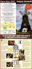 Holgate Windmill information leaflet 2015