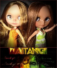 Blythe-a-Day#6: Waitangi Day-New Zealand's National Holiday: Cynthia & Amalia
