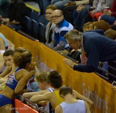 Women's Long Jump - GB's Jazmin SAWYERS (kfjmiller) Tags: athletics nikon audience january running grandprix coaching trackandfield longjump 2015 300mmf4 d7000 emiratesarena jazminsawyers