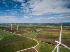 Molinos de Viento (JavierVazquez) Tags: mountain windmill energy power wind alternativeenergy generator electricity inspire development resource windturbine windpower mountainrange renewableenergy drone environmentalconservation dji fuelandpowergeneration santaisabelpuertorico