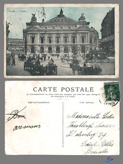 PARIS - L'Opéra (bDom [+ 3 Mio views - + 40K images/photos]) Tags: paris 1900 oldpostcard cartepostale bdom