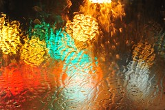 Raining pleasure (sifis) Tags: street color rain night nikon athens greece 85 sakalak d700