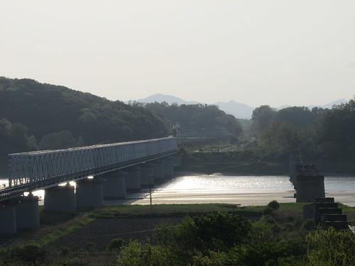 Imjingak, frontière nord-coréenne