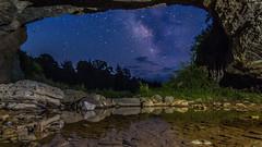 The Sinks of Gandy (dwissman.photography) Tags: longexposure night exposure caves westvirginia sinks