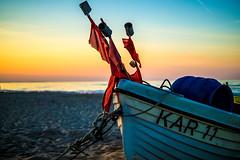 DSC07000 (fidel_barto) Tags: sunset germany landscape deutschland boot boat outdoor sony balticsea landschaft ostsee usedom sonyalphaslta58