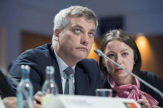 Jerzy Szmit at the Closed Ministerial Session