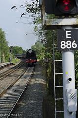 CJM_3229 (cjmillsnun@btinternet.com) Tags: heritage trains hampshire steam locomotive flyingscotsman steamlocomotive romsey nikond7000