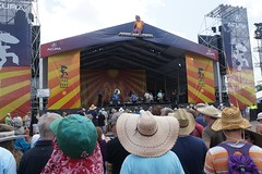 Dirty Dozen Brass Band at the Fest! (spinadelic) Tags: new music festival orleans south april nola jazzfest nawlins stevespencer 2016