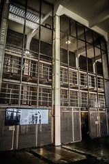 Prison Library in Cellhouse on Alcatraz Island - San Francisco CA (mbell1975) Tags: sf sanfrancisco california ca usa america island us san francisco unitedstates nps library united calif prison cal american jail alcatraz states barracks federal hdr penitentiary disciplinary cellhouse