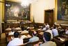 Visita al Senado de los participantes en CESEDEN 13