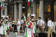 alla parata (Zioluc) Tags: street girls italy music torino parade turin majorettes luciobeltrami