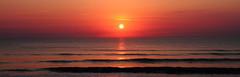 SUNRISE ON FRIDAY THE 13TH (R. D. SMITH) Tags: ocean sky sun beach water clouds sunrise sand shore fridaythe13th canoneos7d