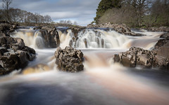 Between the Flow (Justin Cameron) Tags: longexposure nature water canon river waterfall rocks lee countydurham teesdale ndfilter lowforce rivertees neutraldensity canonef1635mmf4lisusm canon5dmkiii leelittlestopper