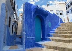 Chefchaouen (Marruecos) Colores... (lameato feliz) Tags: azul calle chefchaouen narruecos