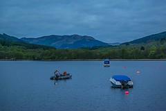 somewhere on Loch Earn (MC Snapper78) Tags: morning mountains landscape boats scotland hills lochearn nikond3300 marilynconnor