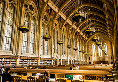Are we in Hogwarts? (~ypf) Tags: seattle light people college church students architecture washington library perspective may harrypotter books read pacificnorthwest hogwarts universityofwashington collegelife suzzallo 2016 suzzallolibrary