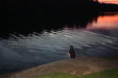 Baka Soph Bae (dvanmoerkerque) Tags: sunset water swimming view brook bae overlooking