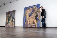 Henri Deparade (ZaglFoto) Tags: de deutschland galerie vernissage ausstellung knstler hallesaale sachsenanhalt zaglmaier