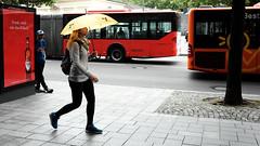 Radioactive (Burnett NL) Tags: street umbrella photography candid streetphotography aachen fujifilm radioactive aken paraplu x70 regenschirm