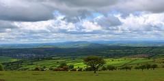 Devon landscape (Eddie Crutchley) Tags: england landscape outside countryside europe devon dartmoor cloudysky yabbadabbadoo greatphotographers