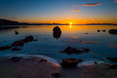 Late Evening at Elgsnes (Reidar Trekkvold) Tags: sunset sun sol norway spring may nordnorge solnedgang vr harstad troms landskap elgsnes