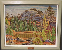 Sunlit Tapestry (Will S.) Tags: ontario canada art gallery artgallery canadian trunks emilycarr mypics kleinburg aboriginalart canadiana groupofseven tomthomson mcmichael mcmichaelcanadianartcollection mcmichaelgallery