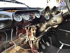 Humber Sceptre dash board minus a few bits (humberama) Tags: old classic car vintage 60s wiring interior board retro dash repair mk2 dah sixties humber sceptre mkii rootes facia
