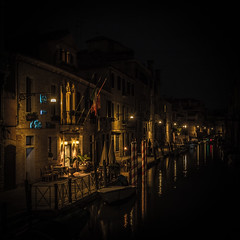 Venice Night Shots II (Sormanns) Tags: italien venice italy night boats nikon nightshot boote kanal venedig channel d7100 sormannphotographycom