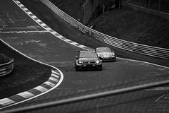 24h Rennen Nrburgring (Tup') Tags: car canon germany lens blackwhite europe body gear places rheinlandpfalz treatment nrburgring canonef70200mmf28lis 24hrennen herschbroich canon5dmarkii wippermannturn