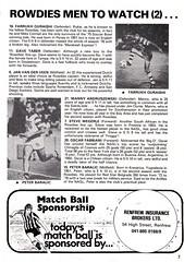 St Mirren vs Tampa Bay Rowdies - 1980 - Page 7 (The Sky Strikers) Tags: street love st tampa bay official exhibition match paisley programme rowdies mirren 25p