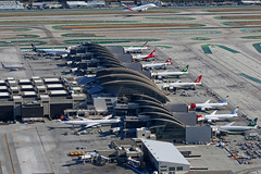 LAX TBIT (Mark Harris photography) Tags: plane aircraft aviation spotting