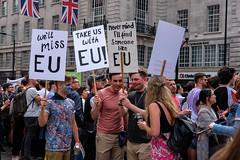 never mind I'll find someone like EU (Silver Machine) Tags: london piccadillycircus prideinlondon placard brexit lgbtpride2016 people uk eu fujifilm fujifilmxt10 fujinonxf35mmf2rwr