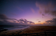 Sunset meets Twilight (Stephen Bowden) Tags: longexposure nightphotography seascape clouds twilight nightscape purple astrophotography