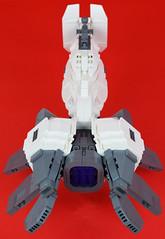 Belial Top Rear (Cuahchic) Tags: lego space bricks alien engine technic snot eveonline coolingfins foitsop
