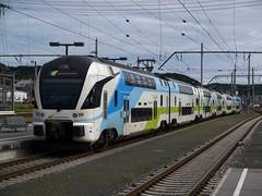 WESTBahn 003 (jvr440) Tags: railroad salzburg train oostenrijk kiss railways hbf trein spoorwegen stadler westbahn