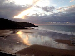 Caswell Bay (bethanyroseevans) Tags: uk sunset beach swansea wales sunrise photography mumbles caswellbay