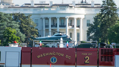 Marine One Departs the White House on 6/29/2016 (J Sonder) Tags: dcist popville famousdc exposeddc dcfocused greatergreaterwashingto hmx1 marineone marine1 potus helicopter marines marineaviation